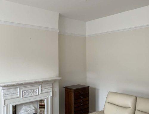 After plaster repair
