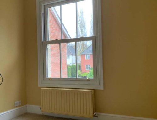 Window and wall